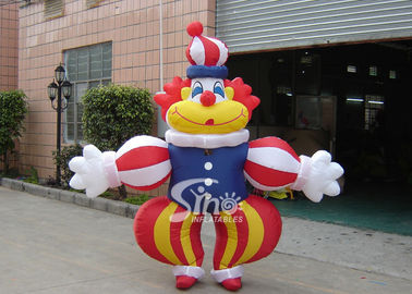 Iklan Kelas Komersial Inflatables Lucu Clown Moving Cartoon