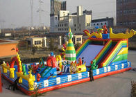 Cina Outdoor Childrens Games Inflatable Taman Hiburan Tiup Raksasa perusahaan